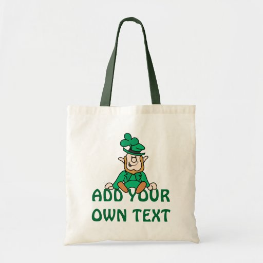 Little Leprechaun - Add Your Own Text Tote Bag