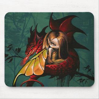 'Little Light' Fairy Dragon Mouse Pad