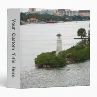 Little Lighthouse Custom Binder