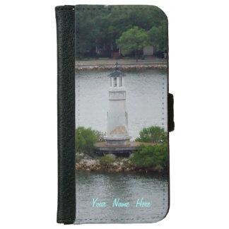 Little Lighthouse Custom iPhone 6 Wallet Case
