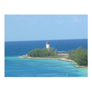 Little Lighthouse Nassau Bahamas Post Cards
