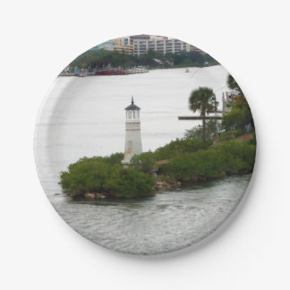 Little Lighthouse Paper Plate