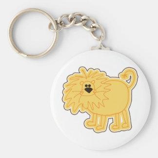 Little Lion Doodle Keychain