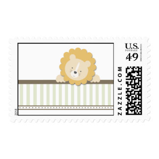 Little Lion {Green} | Stamps