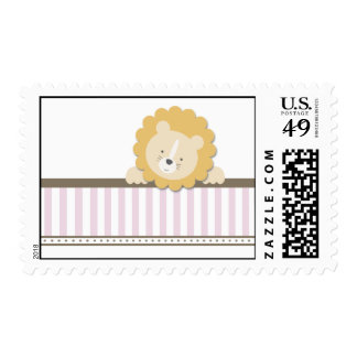 Little Lion {Pink}   Stamps