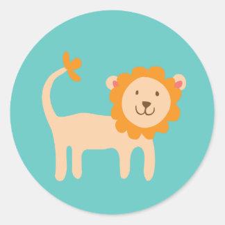 Little Lion Stickers