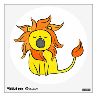 Little Lion Wall Sticker