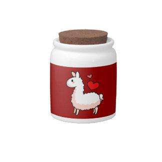 Little Llama Candy Jars