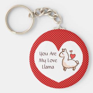 Little Llama Keychain