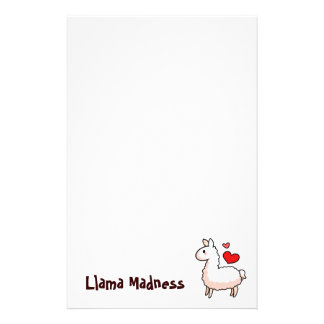Little Llama Stationery