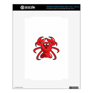 LITTLE LOBSTER DECAL FOR NOOK