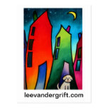 Little Lost dog.09 smlrjpg, leevandergrift.com Post Card