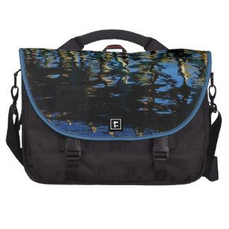 little lost grebe laptop messenger bag