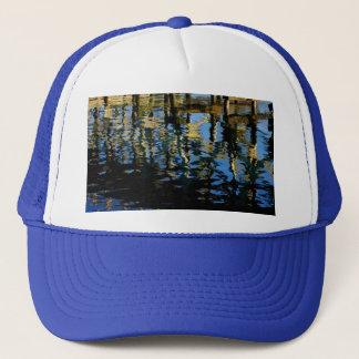 little lost grebe trucker hat