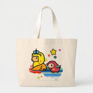 Little Lost Lamb, Lion and Crown Jumbo Tote Bag