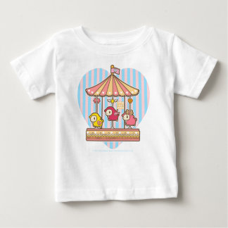 Little Lost Lamb Merry-go-round Baby T-Shirt