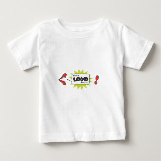 Little Loud Mouth Baby T-Shirt