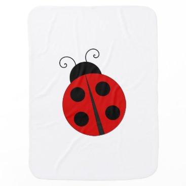 Beach Themed Little love bug, adorable lady  bug blanket