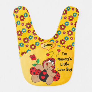 Little Love Bug Nursery Theme Bib