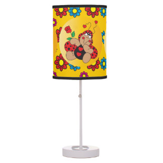 Little Love Bug Nursery Theme Desk Lamp