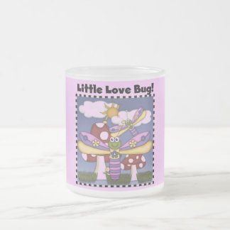 Little Love Bug Tshirts and Gifts Frosted Glass Coffee Mug