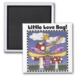 Little Love Bug Tshirts and Gifts Magnet