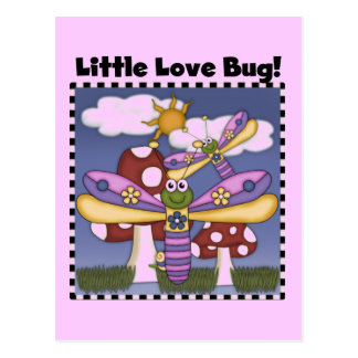 Little Love Bug Tshirts and Gifts Postcard
