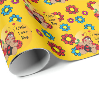 Little Love Bug Wrapping Paper