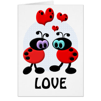 Little Love Bugs Card