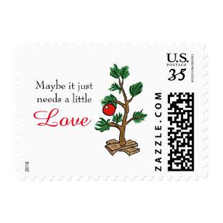 Little Love Christmas Tree - Postage Post Card