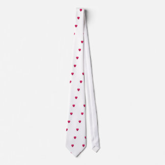 Little love heart healthbar cute design neck tie