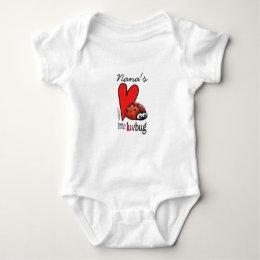 Little Lovebug - First Valentine's Day Baby Bodysuit
