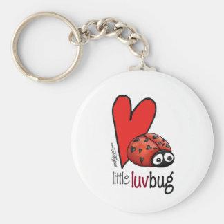 Little Lovebug - First Valentine's Day Basic Round Button Keychain