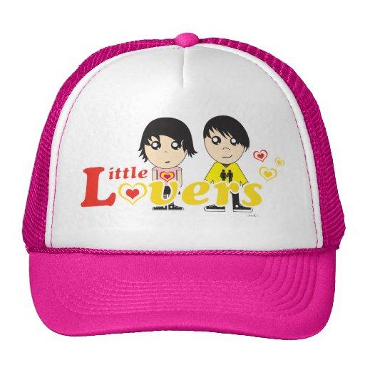 Little Lovers - Aiko & Hayate Trucker Cap Trucker Hats