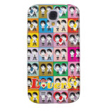 Little Lovers - Love Cube iPhone 3G Speck Case Galaxy S4 Covers