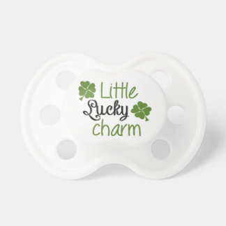 Little lucky charm pacifier