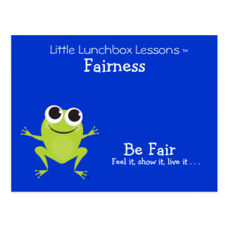 Little Lunchbox Lessons - Fairness Postcard