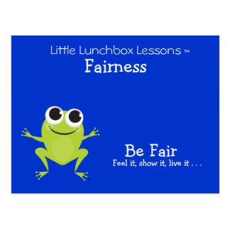 Little Lunchbox Lessons - Fairness Postcard