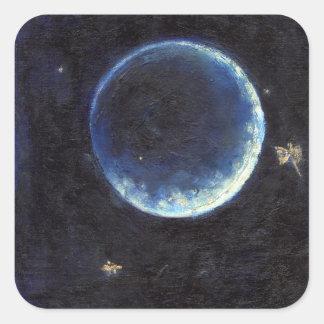 Little Lune 2014 Square Sticker