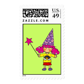 Little magician postage stamp