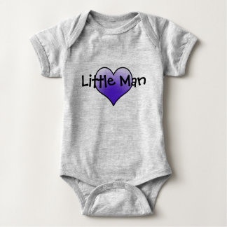 Little Man 101 Baby Bodysuit