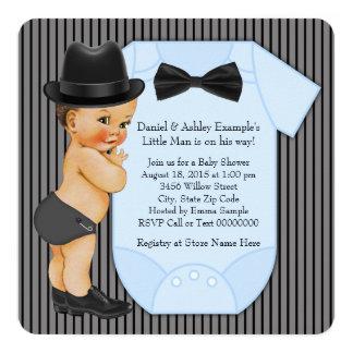 Little Man Baby Boy Shower Card