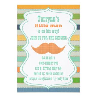 LITTLE MAN Baby Shower & Birthday Invitation