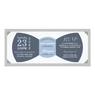 Little Man Baby Shower Invitation, Bow Tie Card