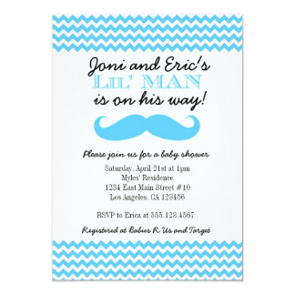 LIttle Man Baby Shower invitation Invitations