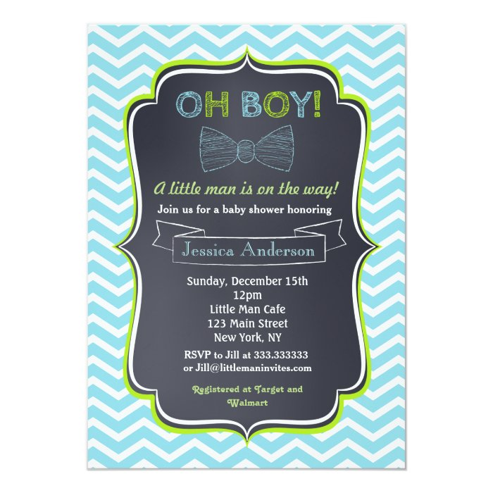 little man baby shower invitations zazzle