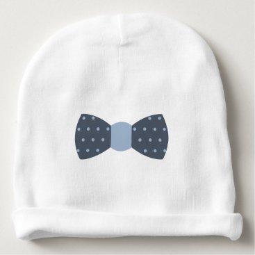 Beach Themed Little Man Beanie, Baby Hat, Bow Tie, Little Man Baby Beanie