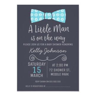 Superb Little Man Bow Tie Baby Shower Invitation