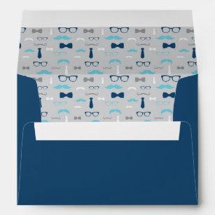 baby blue envelopes zazzle