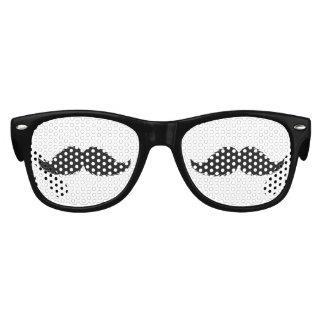 Little Man Hipster Mustache Birthday Party Kids Sunglasses